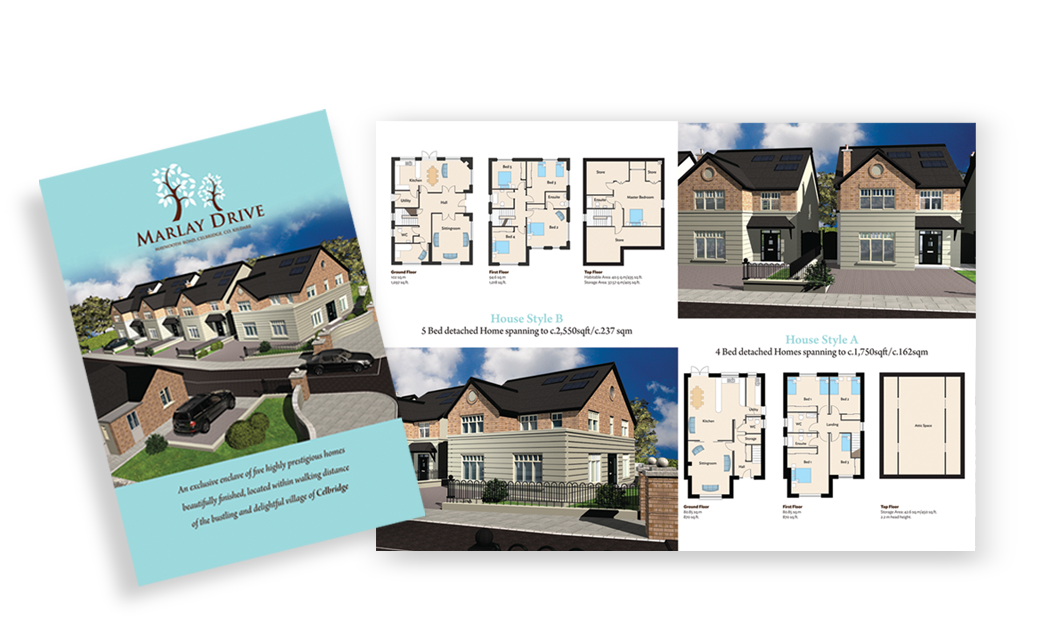 Construction - New Residential Property Brochure Design