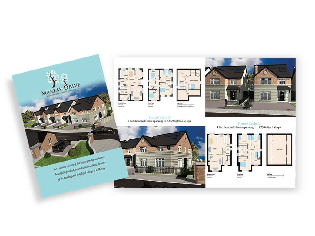 Construction - New Residential Property Brochure Design - Sinnott Design