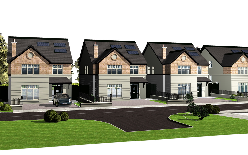 cgi illustration, architectural visualisation kildare. best architectural illustration kildare