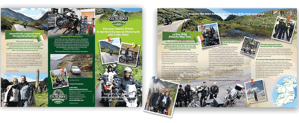 brochure design kildarer, brochure printing kildare, best graphic design kildare,