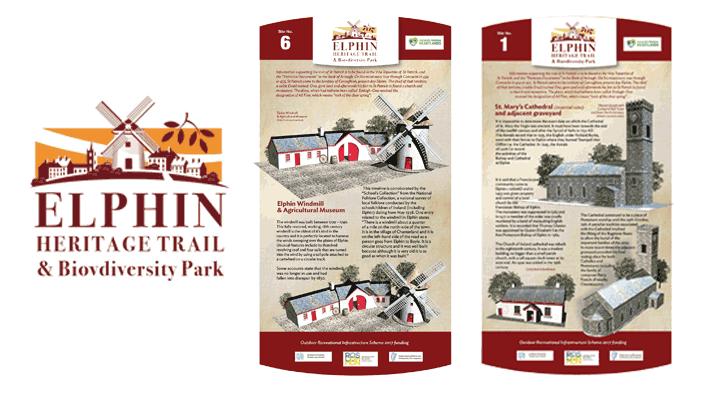 heritage illustration, irish tourism logo, irish architectural heritage illustration