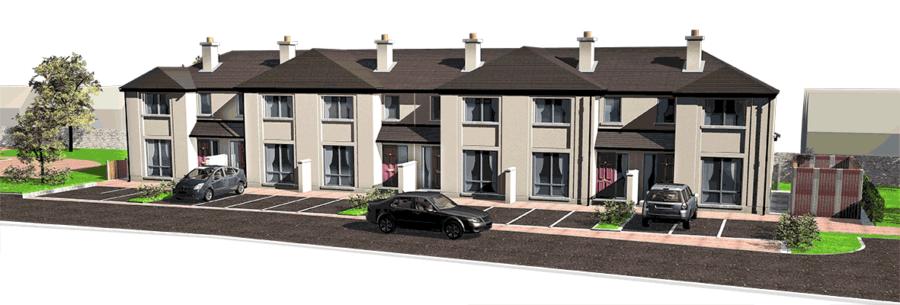 luxury property development illustration, property brochure design, CGI illustration