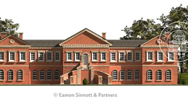 curragh hospital-sinnottdesign-kildarearchitectural illustration